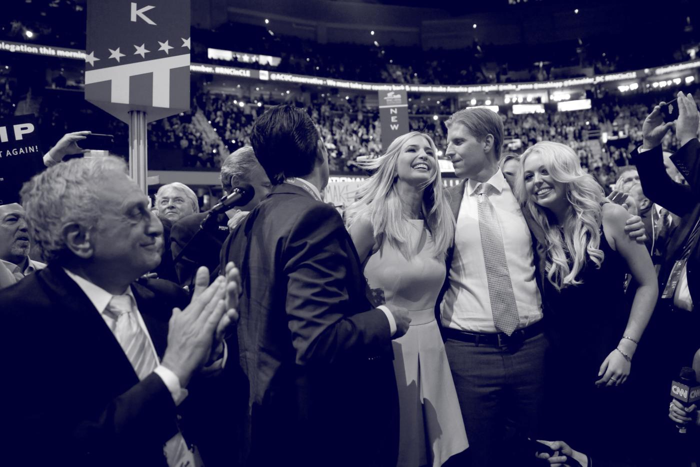 Eric Trump's Nepotistic Self-Dealing