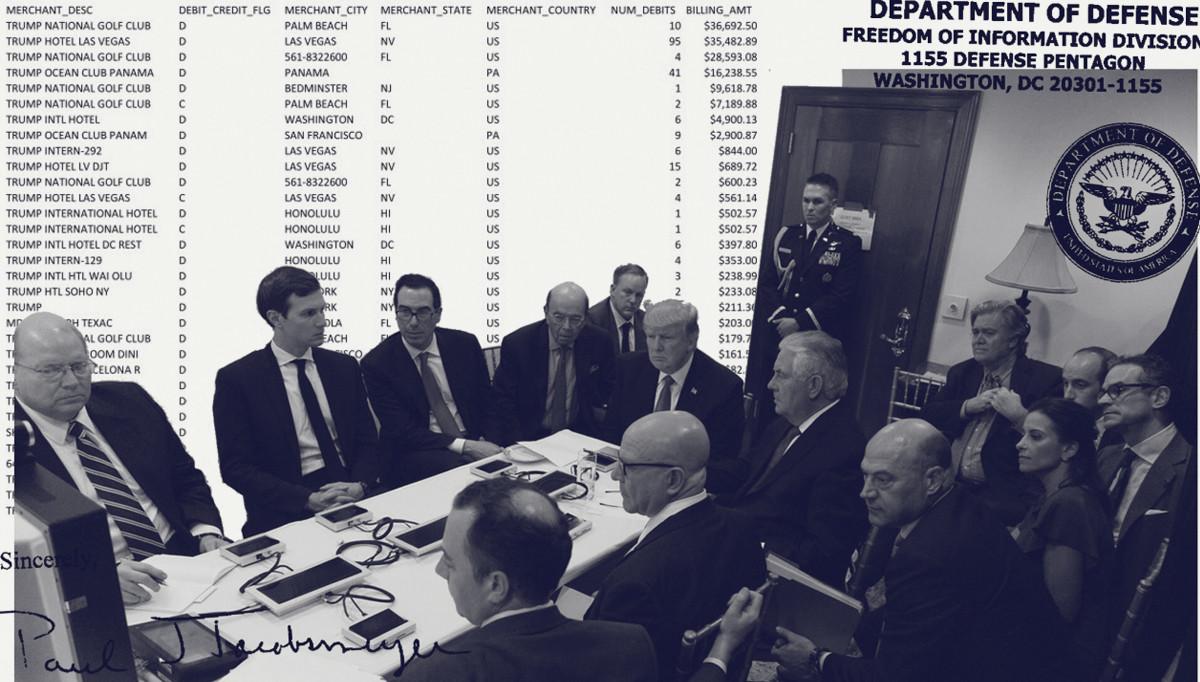 FOIA Litigation Reveals Department of Defense Spent $138,093 at Mar-a-Lago and Trump Businesses