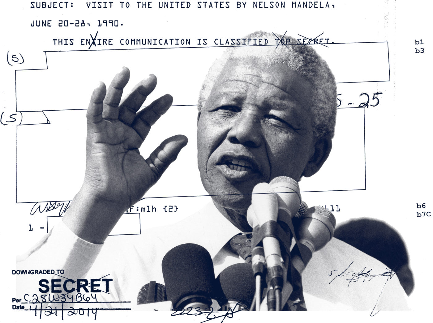 Property of the People Makes Public Thousands of Pages of U.S. Intelligence Agency Documents about Nelson Mandela