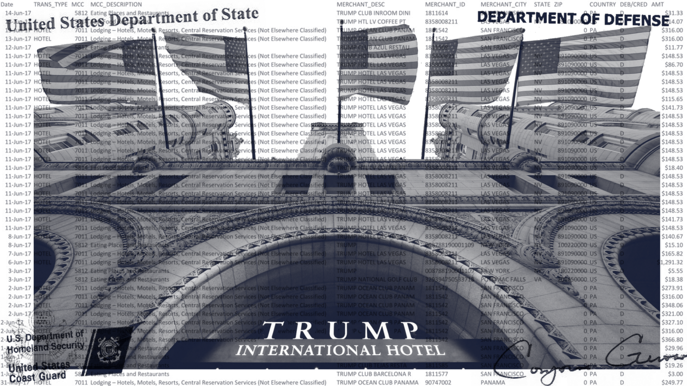 Property of the People's FOIA Litigation Reveals $344,008.28 in US Taxpayer Money Spent at Trump Properties