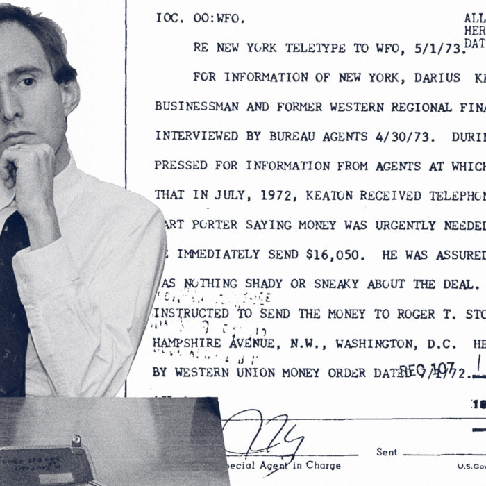 FBI Documents on Roger Stone Reveal Sabotage, Espionage, and the Life of a Serial Bagman
