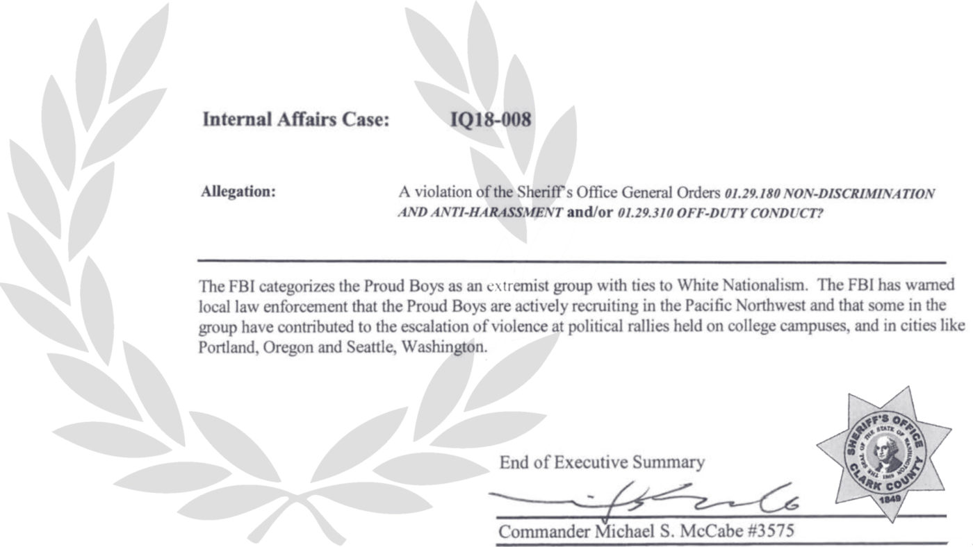 Document Reveals the FBI Categorizes the Proud Boys as 'an Extremist Group with Ties to White Nationalism'