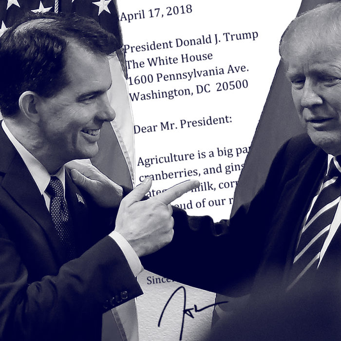 Scott Walker to President Trump: Don't Mess with Wisconsin's Ginseng Farmers
